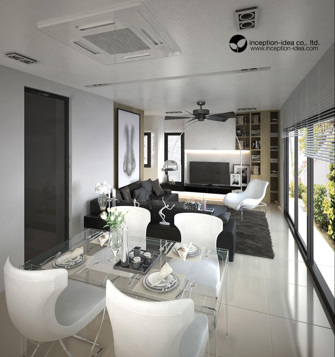 ออกแบบภายในบ้าน2ชั้น Siam HighVille คลอง4