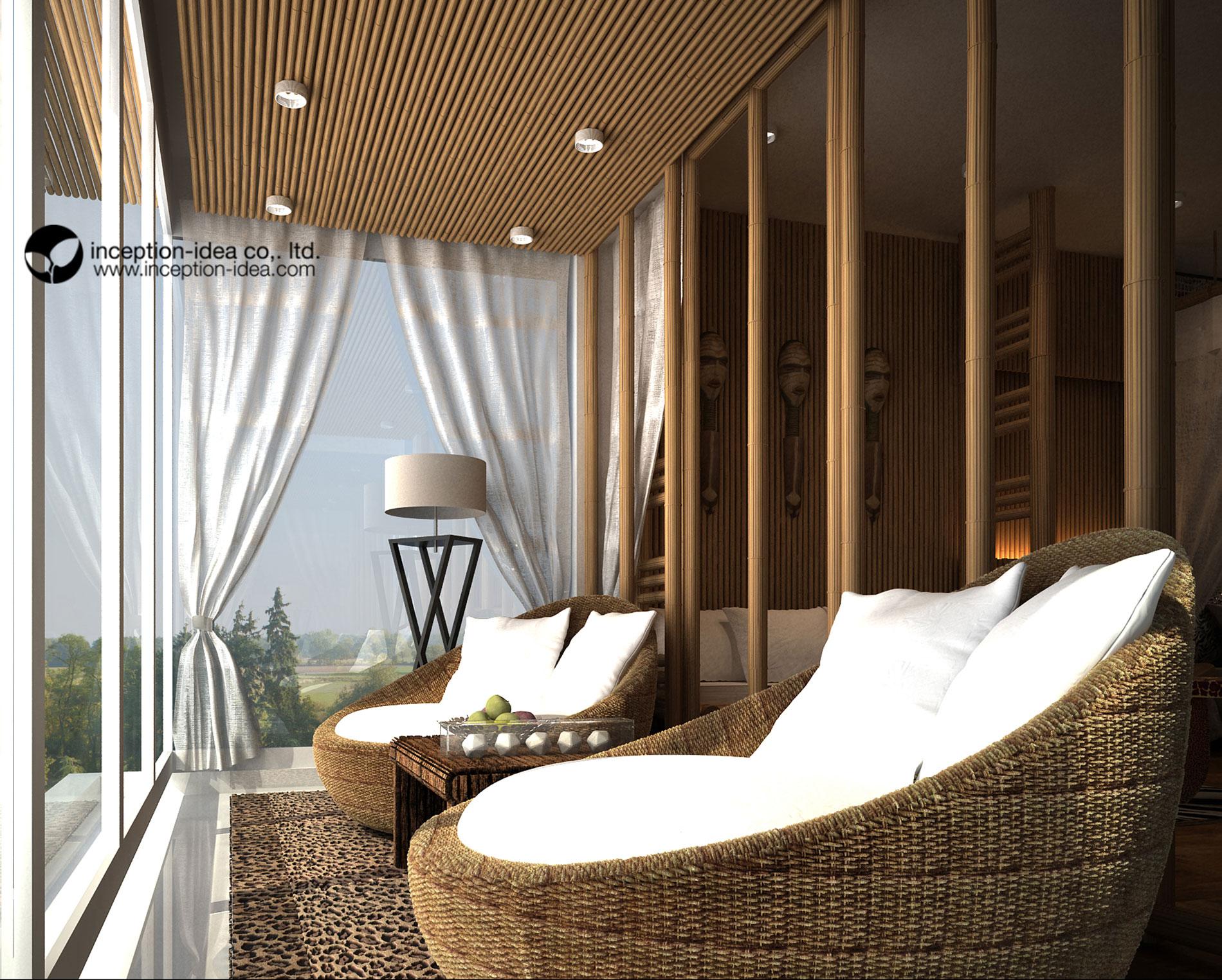 ออกแบบภายในรีสอร์ท Dubai United Arab Emirates