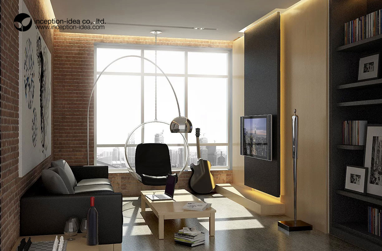 ออกแบบภายในคอนโด บ้านเจ้าพระยาสาธร คลองสาน