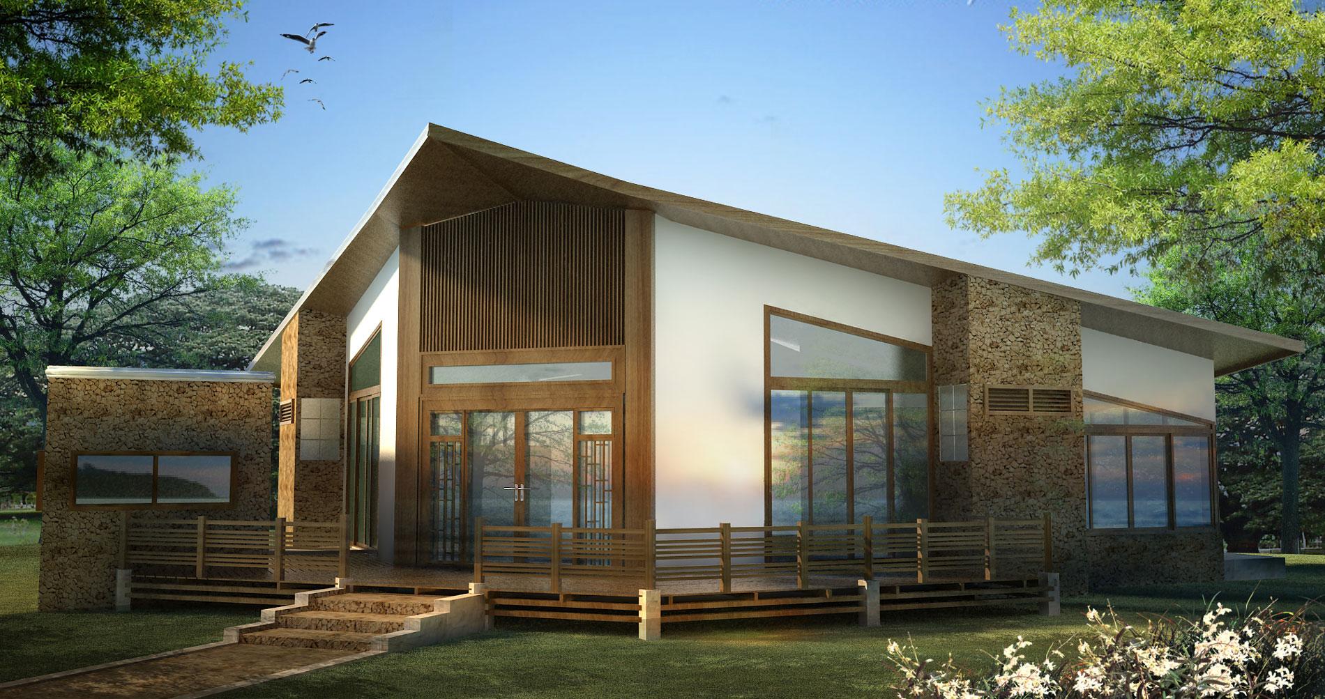 ออกแบบบ้านพักตากอากาศ ปราณบุรี ประจวบคีรีขันธ์