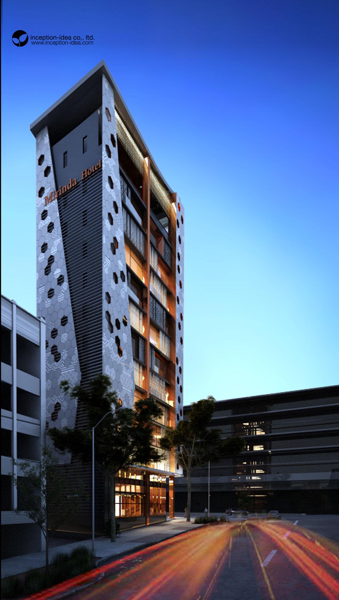 ออกแบบ Milinda Hostel เวียงจันทร์ ประเทศลาว
