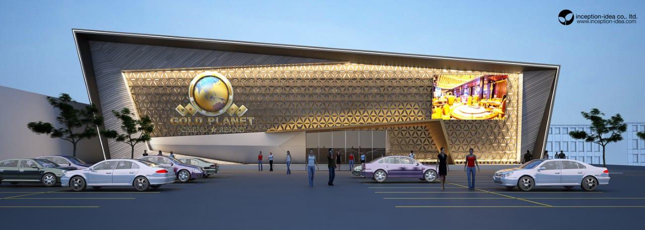 ออกแบบ Gold Planet Casino&Resort ปอยเปต ประเทศ กัมพูชา